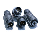 5 Pole Circular Connector with UL, TUV and RoHS Certification