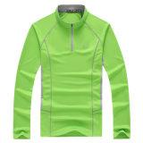 Custom Long Sleeve Sport Dry Fit Seamless Polo Shirt