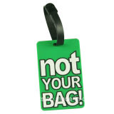 Soft PVC Bag Tag with Your Information (LT008)