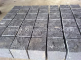 Sawn, Flamed, Natural Split Granite Cobble Paving Stone