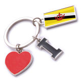 New Custom Metal Souvenir Brunei Keyring