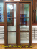 Solid Teak Wood Aluminum Window, Wooden Window Frame Design, Import Aluminium Wood Casement Window