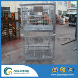 Wire Mesh Container in Lifting Type with Caster