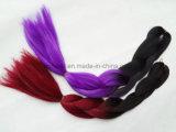 Wholesale Price Ombre Color Super100% Kanekalon Jumbo Braids Factory