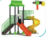 2015 Hot Selling Outdoor Playground Slide with GS and TUV Certificate (QQ14022-1)