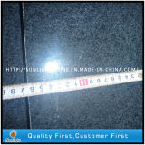 Padang Dark Sesame Black G654 Granite Flooring Tiles, Exterior Tiles