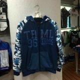 Fashion Army Men′s Zip-up Fleece Coat Fw-8616