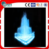 Customize LED Color Changing Triangle Music Fountain Dancing