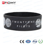 for RFID Integrator Waterproof Silicone Smart NFC Wristband