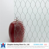 6mm 6.5mm Top Quality Wire Reinforced Glass