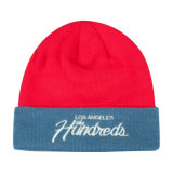 Winter Knitted Beanie Hat with Custom Logo Embroidery