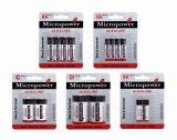 Mercury Free Super Power Alkaline Dry Battery