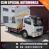 4X2 3.5 Tons Telescopic Straight Arm Truck with Loading Crane