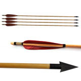 Wood Archery Arrows T-Wood Red
