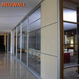 Single-Glass Partition Walls for Office
