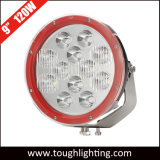 EMC Approved 12V IP67 9 Inch 120W Round CREE LED Driving Lights for Car