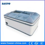 Logo Attached Available 700L Chest Freezer for Supermarket