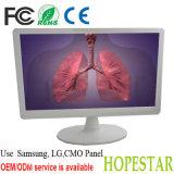 18.5 Inch White Color Desktop LCD LED Monitor 12V