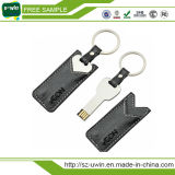 2.0 USB Flash Drives Leather USB Memory Stick