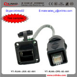 IP65 Connector RJ45/ Male Famle Connector for Traffic Signal System