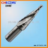 HSS Step Drill Spiral Flute (SSHS)