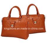 Good Quality Embossed PU Handbag (KCH203)