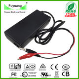 Output 5.5A 12V Li-ion Battery Charger for Safety Security Products