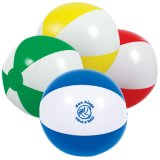 Inflatable Two-Tone Beach Balls (PM232)
