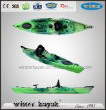 Recreational Single Sit on Top Plastic Fishing Kayak
