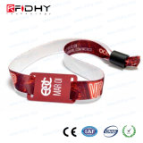 RFID Fabric Wristband Adjustable for Tracking