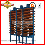 Spiral Chute Concentrator for Rutile Separation
