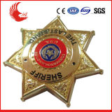 New Design Metal Customized Cool Gold Plating Badges
