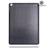 New Innovative Luxury Carbon Fiber Rubbrized PC Plastic Cases Cover for iPad PRO
