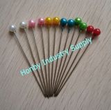 Wholesale 55mm Ball Shaped Pearl Head Muslim Brooch Hijab Scarf Pins