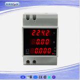 DIN Rail Digital Current and Voltage Meter Ammeter Voltmeter