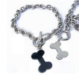 Hot Sell Pet Jewelry Stainless Steel Chain Necklace