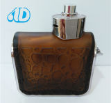 Ad-P416 Hot Sale Engraving Pet Glass Perfume Bottle 100ml