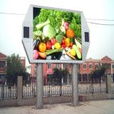 Full Color Tube LED Display Screen P10 LED Display
