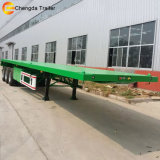 40FT 3 Axel Flatbed Semi Trailer Chassis for Sale