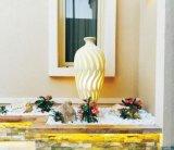 Outdoor Statue Sandstone Resin LED Light Sculpture for Home or Garden Decoration