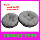 Soft Comfortable Flannel Dog Bed (WY161076-5A/B)