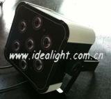 Stage Lighting Flat PAR 7PCS Tri-RGB 3W LED PAR Light
