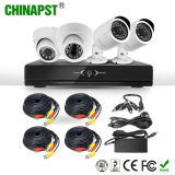 2017 Hottest Indoor&Outdoor HD Camera System 4CH CCTV Ahd DVR Kits (PST-AHDK04B)
