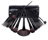 24 PCS Wool Handle Hair PRO Cosmetic Tool Makeup Brush