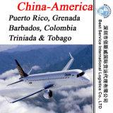 Air Freight Puerto Rico, Grenada, Barbados, Triniada & Tobago, Colombia (logistics)