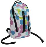 Circular Printing School Sports Backpack Bag (BPS0024)