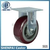 Heavy Duty Polyurethane Fixed Caster Wheel