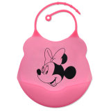 Wholesale Eco-Friendly Silicone Infant Bibs