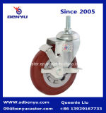 Medium Duty Swivel Caster Wheel with Side Brake