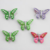 Zinc Alloy Material Enamel Butterfly Bracelet Craft Charm (JP08)